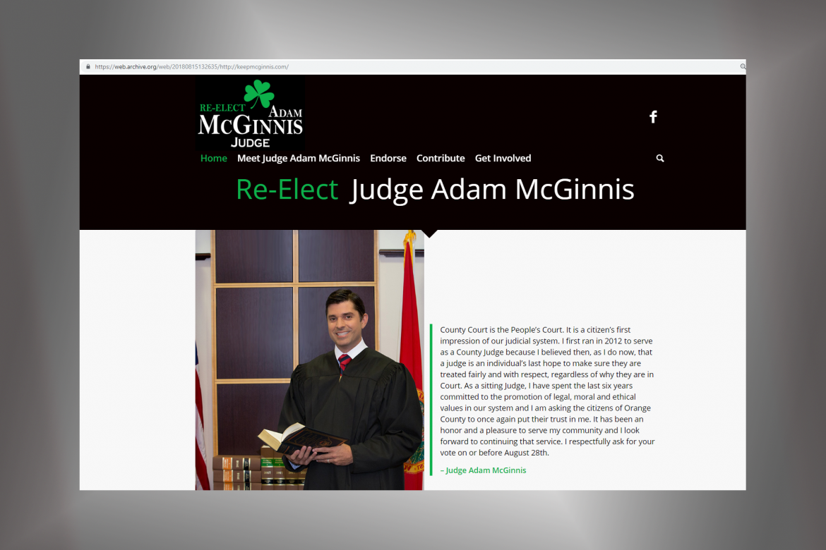 judge mcginnis - website